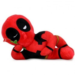 Figur Sexy Deadpool Plush by Kidrobot x Marvel Kidrobot Geneva Store Switzerland