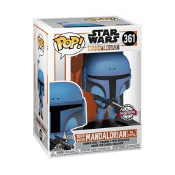 Figurine Pop Star Wars The Mandalorian Death Watch No Stripe Edition Limitée Funko Boutique Geneve Suisse