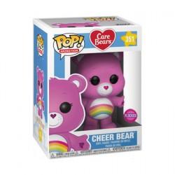 Figur Pop Flocked Care Bears Cheer Bear Limited Edition Funko Geneva Store Switzerland