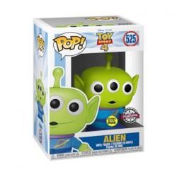 Figurine Pop Phosphorescent Disney Toy Story 4 Alien Edition Limitée Funko Boutique Geneve Suisse