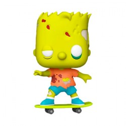 Figurine Pop The Simpsons Zombie Bart Simpson Funko Boutique Geneve Suisse