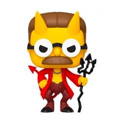 Figurine Pop The Simpsons Devil Flanders Funko Boutique Geneve Suisse