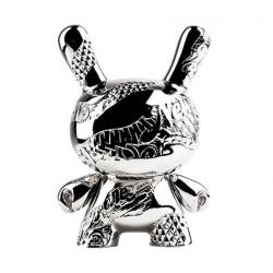 "Figur Dunny New Money 15th Anniversary 5"" Metal Figure by Tristan Eaton Kidrobot Geneva Store Switzerland"