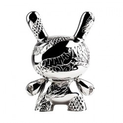 Figurine Dunny New Money 15th Anniversary 12,5 cm Figure Métallique par Tristan Eaton Kidrobot Boutique Geneve Suisse