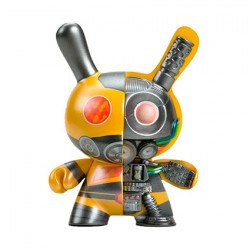 "Figur Dunny Dairobo-B Mecha Half Ray 5"" Yellow Edition by Dolly Oblong Kidrobot Geneva Store Switzerland"