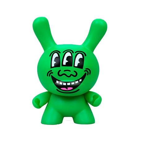 "Figur Dunny Art Figure Three Eyed Face 8"" Masterpiece by Keith Haring Kidrobot Geneva Store Switzerland"