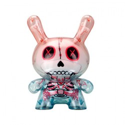 "Figur Dunny Art Figure Gashadokuro Plush Guts 8"" White Edition Kidrobot Geneva Store Switzerland"