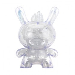 "Figur Dunny Art Figure Krak 8"" Crystal Edition by Scott Tolleson Kidrobot Geneva Store Switzerland"