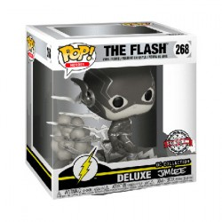 Figur Pop Deluxe The Flash Jim Lee Black and White Limited Edition Funko Geneva Store Switzerland