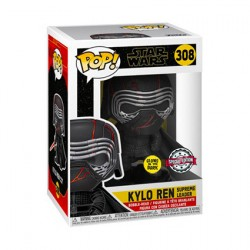 Figurine Pop Phosphorescent Star Wars The Rise of Skywalker Supreme Leader Kylo Ren Edition Limité Funko Boutique Geneve Suisse