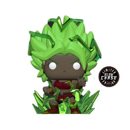 Figurine Pop Phosphorescent Dragon Ball Super Super Saiyan Kale with Energy Base Chase Edition Limitée Funko Boutique Geneve ...