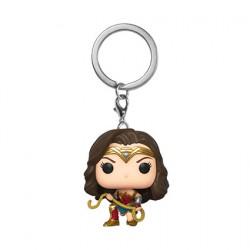 Figurine Pop Pocket Porte-Clés Wonder Woman 1984 avec Lasso Funko Boutique Geneve Suisse