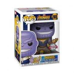 Figur Pop Metallic Marvel Avengers Infinity War Thanos Limited Edition Funko Geneva Store Switzerland