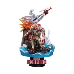 Figurine Iron Man 3 15 cm Diorama D-Select Iron Man Mark XLII Beast Kingdom Boutique Geneve Suisse