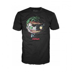 Figuren T-shirt DC Comics The Joker Death of the Family Funko Genf Shop Schweiz
