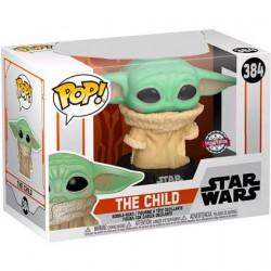 Figur Pop Star Wars The Mandalorian The Child Concerned (Baby Yoda) Limited Edition Funko Geneva Store Switzerland