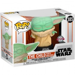 Figurine Pop Star Wars The Mandalorian The Child Force Wielding (Baby Yoda) Edition Limitée Funko Boutique Geneve Suisse