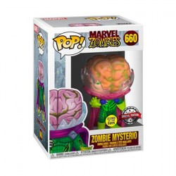 Figur Pop Glow in the Dark Marvel Zombies Mysterio Zombie Limited Edition Funko Geneva Store Switzerland