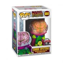 Figurine Pop Phosphorescent Marvel Zombies Mysterio Zombie Edition Limitée Funko Boutique Geneve Suisse