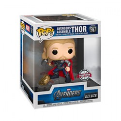 Figur Pop Avengers Thor Assemble Deluxe Limited Edition Funko Geneva Store Switzerland
