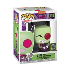 Figurine Pop SDCC 2020 Invader Zim with Minimoose Edition Limitée Funko Boutique Geneve Suisse