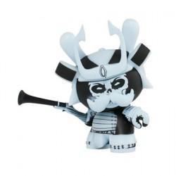 Figuren Dunny Blau Phosphoreszierend von Jon Paul Kaiser Kidrobot Designer Toys Genf