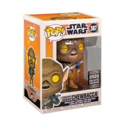 Figurine Pop Star Wars Galactic 2020 Chewbacca Ralph McQuarrie Concept Edition Limitée Funko Boutique Geneve Suisse