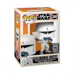 Figurine Pop Star Wars Galactic 2020 Boba Fett McQuarrie Concept Edition Limitée Funko Boutique Geneve Suisse