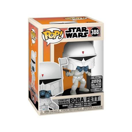 Galactic Convention 2020 Funko Pop Star Wars Boba Fett McQuarrie Concept