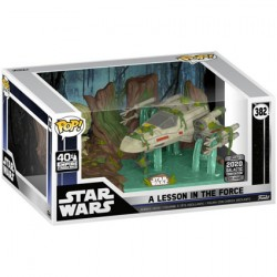 Figur Pop 6 inch Star Wars Galactic 2020 Yoda lifting X-Wing Limited Edition Funko Geneva Store Switzerland