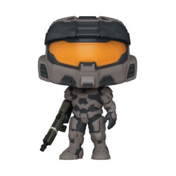 Figur Pop Halo Infinite Spartan Mark VII with Vakara 78 Commando Rifle Funko Geneva Store Switzerland