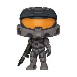 Figurine Pop Halo Infinite Spartan Mark VII avec Vakara 78 Commando Rifle Funko Boutique Geneve Suisse