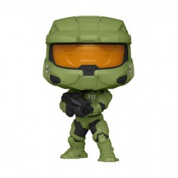 Figur Pop Halo Infinite Master Chief with MA40 Assault Rifle Funko Geneva Store Switzerland