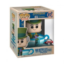 Figurine Pop 15 cm Disneyland 65th Anniversary Mad Hatter Teacup Edition Limitée Funko Boutique Geneve Suisse