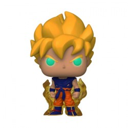 Figurine Pop Phosphorescent Dragon Ball Z Goku Super Saiyan Edition Limitée Funko Boutique Geneve Suisse
