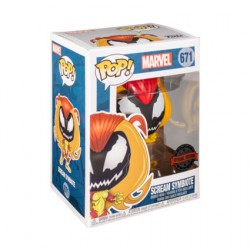 Figurine Pop Spider-Man Scream Symbiote Edition Limitée Funko Boutique Geneve Suisse