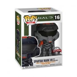 Figuren Pop Halo Infinite Mark VII Black mit Shock Rifle Limitierte Auflage Funko Genf Shop Schweiz