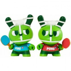 Dunny 2012 Ping and Pong by Mauro Gatti