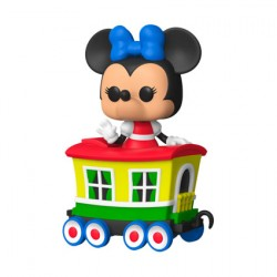 Figur Pop Disneyland 65th Anniversary Minnie Train Carriage Limited Edition Funko Geneva Store Switzerland