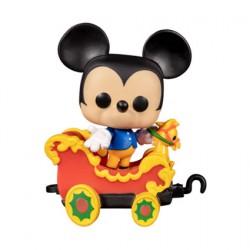 Figurine Pop Disneyland 65th Anniversary Mickey in Train Carriage Funko Boutique Geneve Suisse