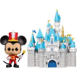 Figur Pop Disneyland 65th Anniversary Mickey with Castle Funko Geneva Store Switzerland