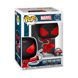 Figurine Pop Marvel Spider-Man Scarlet Edition Limitée Funko Boutique Geneve Suisse