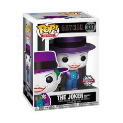 Figur Pop Metallic Batman 1989 Joker with Hat Limited Edition Funko Geneva Store Switzerland