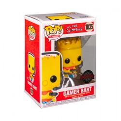 Figuren Pop The Simpsons Gamer Bart Limitierte Auflage Funko Genf Shop Schweiz