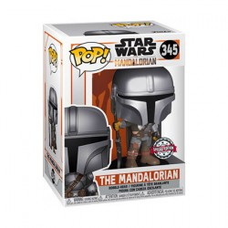 Figurine Pop Chrome Star Wars The Mandalorian Edition Limitée Funko Boutique Geneve Suisse