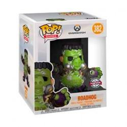 Figurine Pop 15 cm Overwatch Junkenstein's Monster Roadhog Edition Limitée Funko Boutique Geneve Suisse