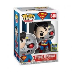 Figurine Pop SDCC 2020 DC Cyborg Superman Edition Limitée Funko Boutique Geneve Suisse