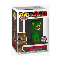 Figurine Pop Movie Jurassic Park Velociraptor Edition Limitée Funko Boutique Geneve Suisse