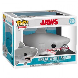 Pop 15 cm Movie Jaws Great White Shark Limited Edition