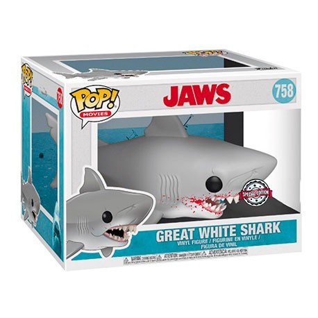 Figur Pop 15 cm Movie Jaws Great White Shark Limited Edition Funko Geneva Store Switzerland